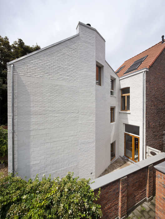 House extension Mortsel / Bovenbow | ArchDaily