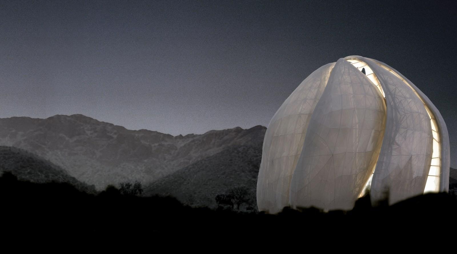 """Conferencia Técnica """"Innovación Arquitectónica y Desafío Estructural: el Templo Bahá'í de Sudamérica"""", Courtesy of Comunidad Bahá´í"""