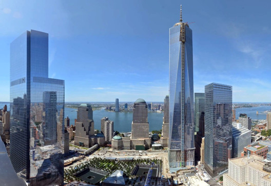 Time-Lapse: One World Trade Center, Screen Shot via CNET