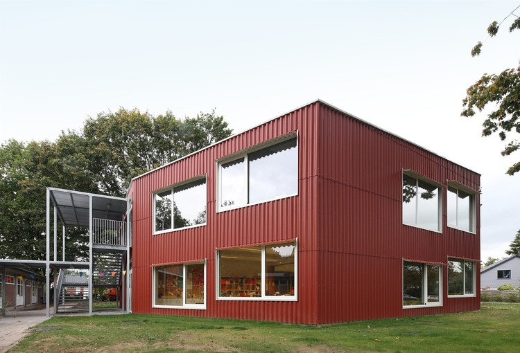 School extension Rumst / Bovenbouw, © Filip Dujardin