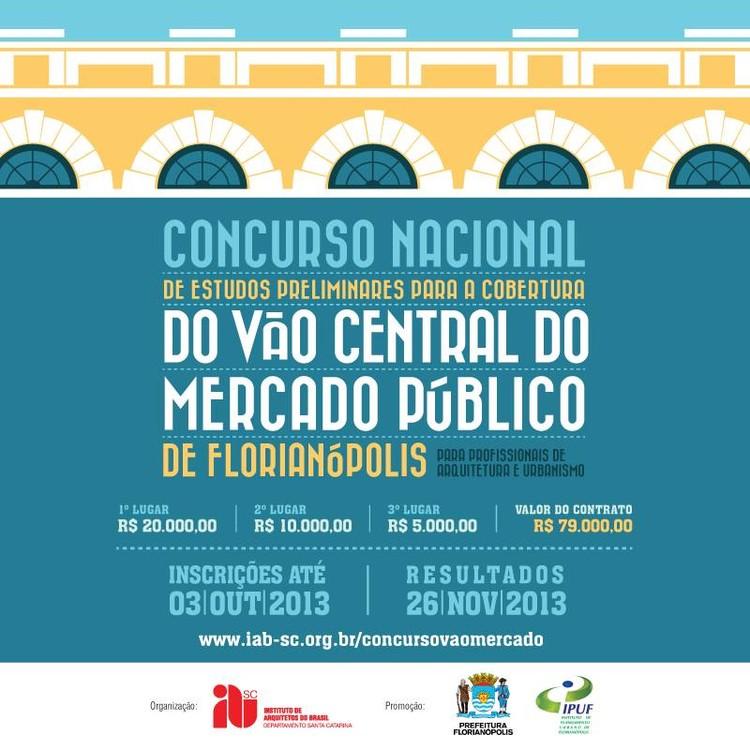 Concurso para o vão central do Mercado Público de Florianópolis