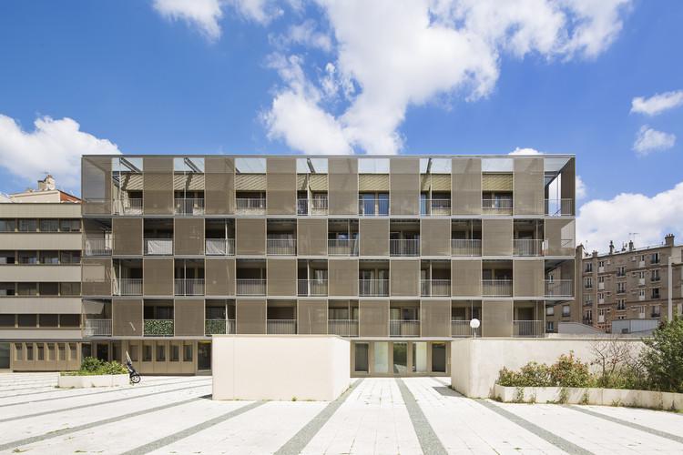 Plaza Vitruvio / Atelier du Pont, ©  Luc Boegly
