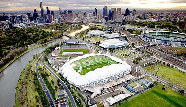 How Arup Became The Go-To Firm for Architecture's Most Ambitious Projects, AAMI Park Stadium, Cox Architects and Partners & Arup Engineering. Image Courtesy of Arup, via Metropolis Magazine