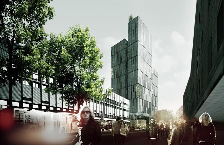 Urban Mountain vence o Nordic Built Challenge, na Noruega, © schmidt hammer lassen architects