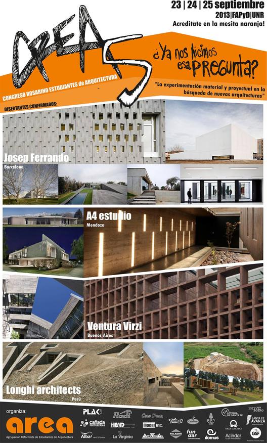 """Congreso """"La experimentación material y proyectual en la búsqueda de nuevas arquitecturas"""" / Argentina"""