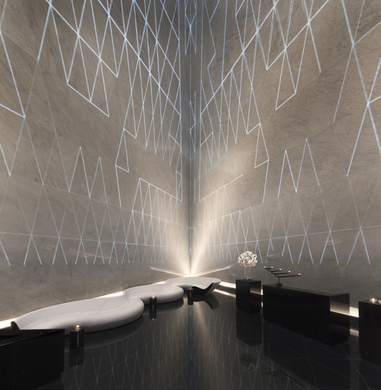 Vencedores do 2013 Restaurant & Bar Design Award, Melhor Bar: Atrium Champagne Bar (Londres) / Foster and Partners. Imagem