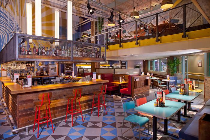 Gallery of 2013 restaurant bar design award winners 15 for Amenagement cuisine restaurant