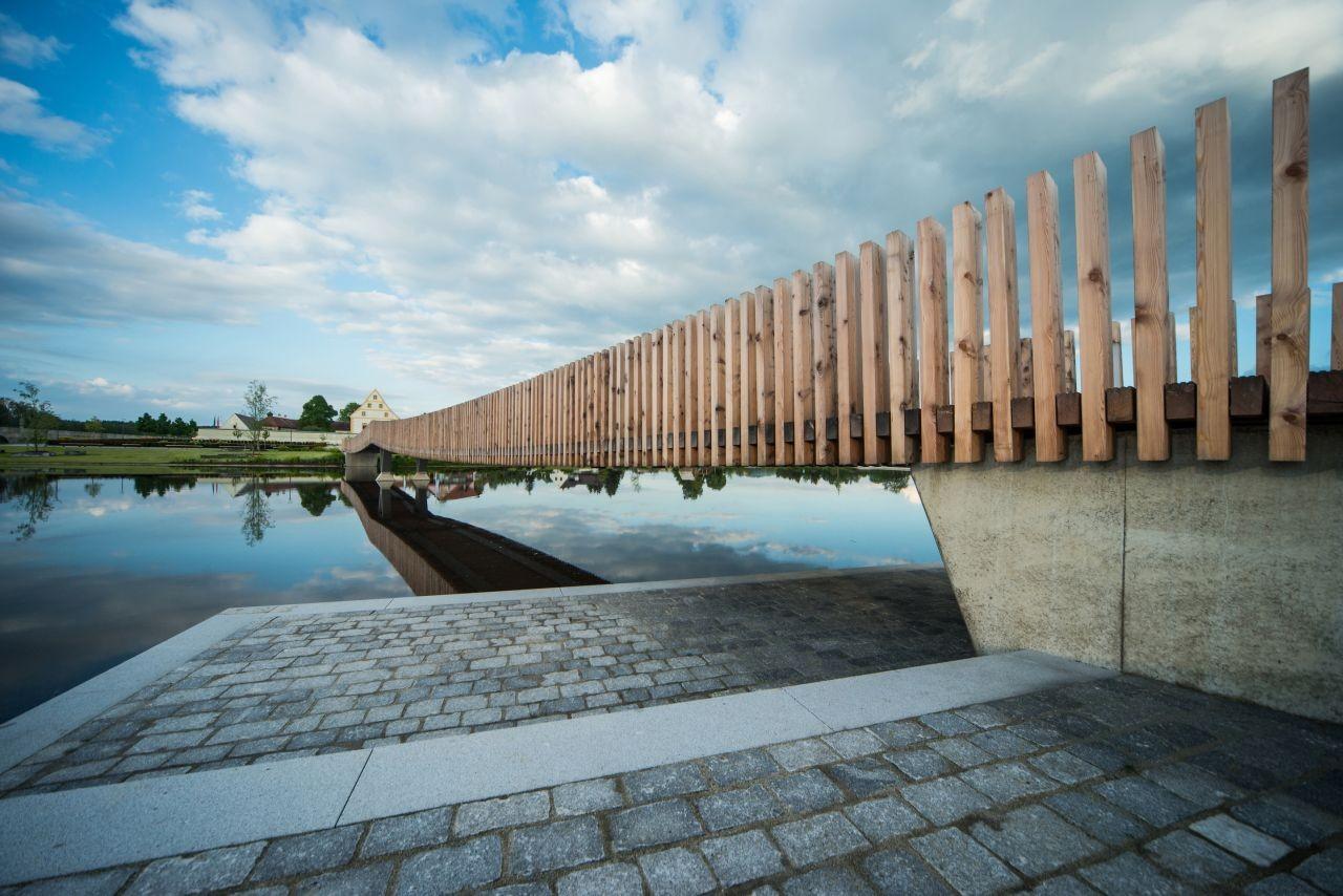 Spannbandbrücke / ANNABAU, © Hanns Joosten