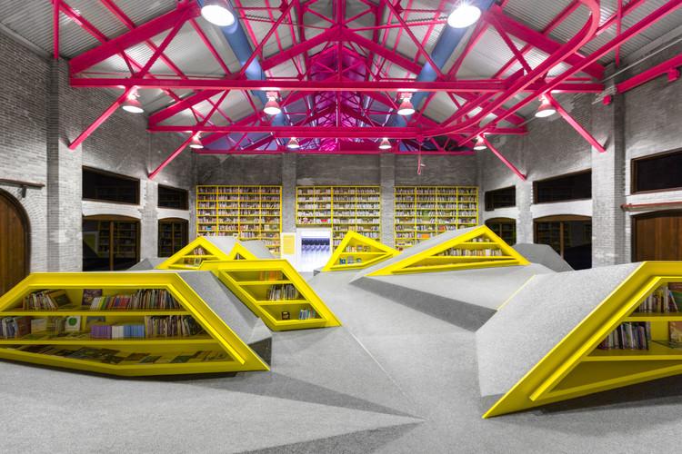 Biblioteca Infantil e Centro Cultural por Conarte / Anagrama, © Caroga