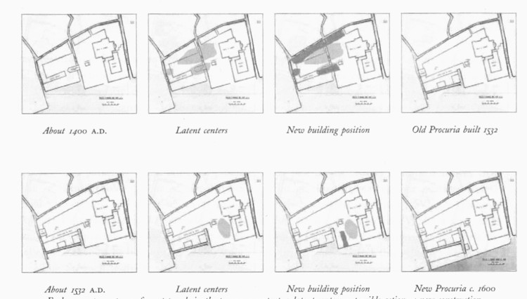Transformations of the PIazza San Marco in Venice that preserve structural wholeness over about 200 years, part of a larger series over 1,000 years as shown by Christopher Alexander in his book,