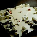 Model of Cannaregio project with House 11a at different scales (1978). Image Courtesy of an-onymous.com