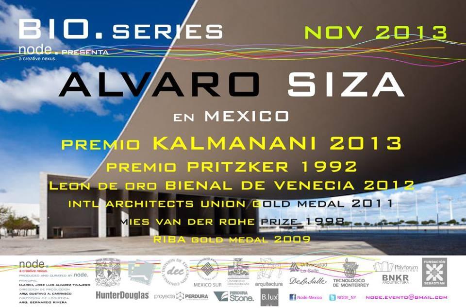 NODE. presenta Alvaro Siza en México / Premio Kalmanani 2013, Cortesía de NODE.