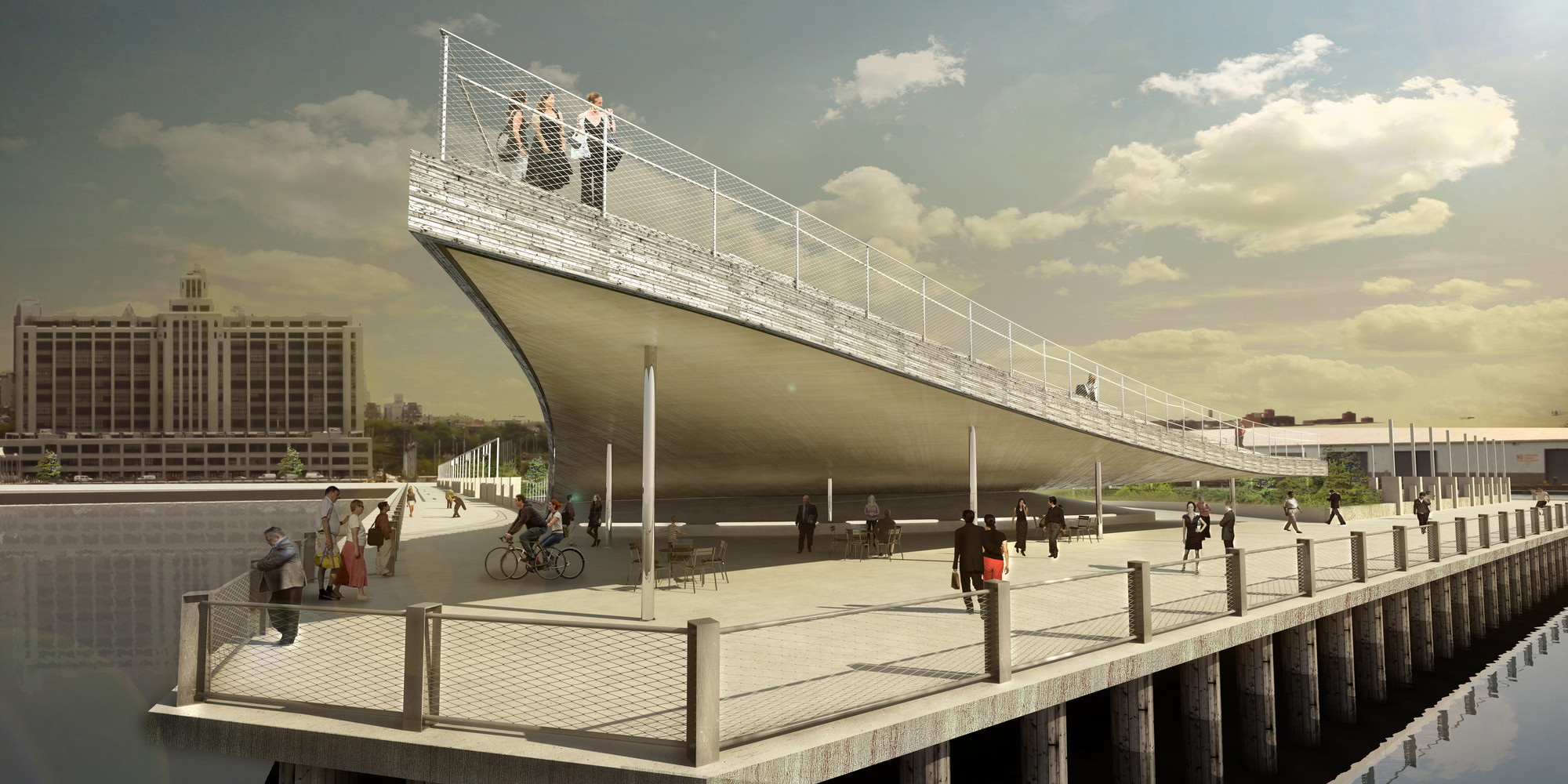 Brooklyn bridge park tag archdaily for Studio v architecture