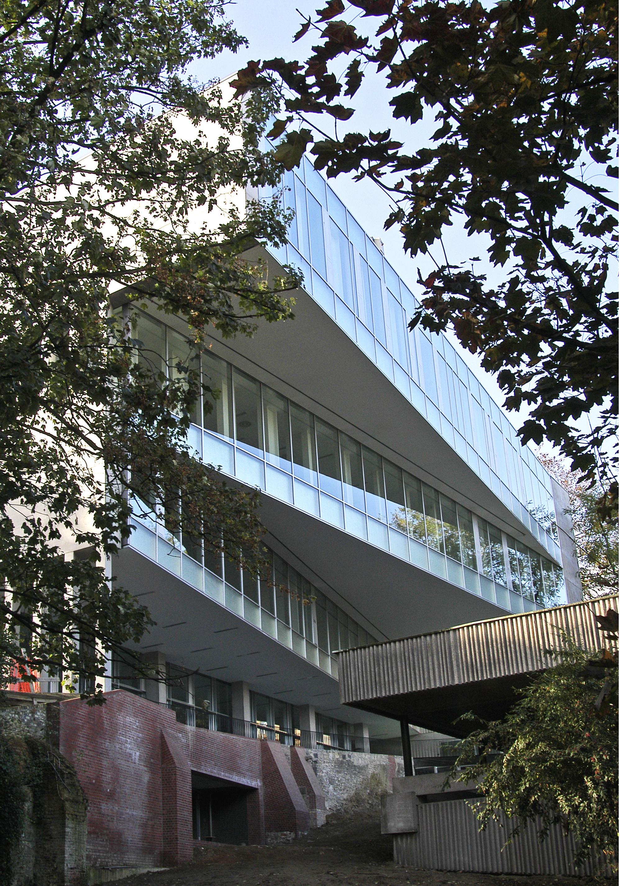 Facultad de Economía Universidad de Ghent / Xaveer De Geyter Architects + Stéphane Beel Architects