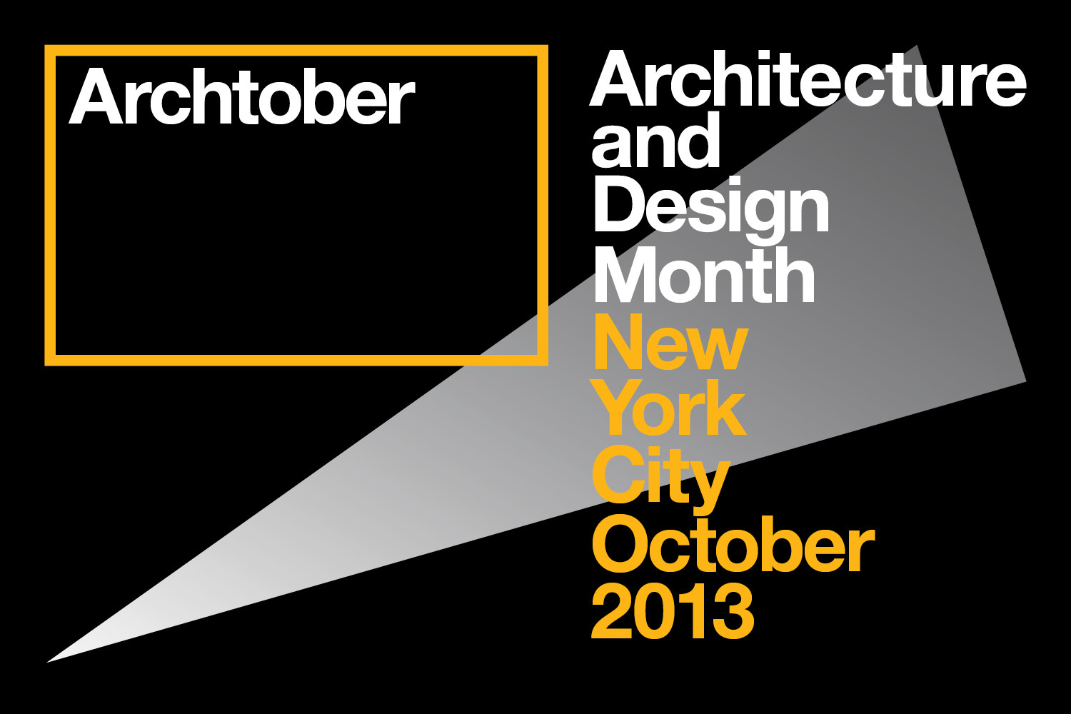 Archtober 2013: Architecture and Design Month in NY
