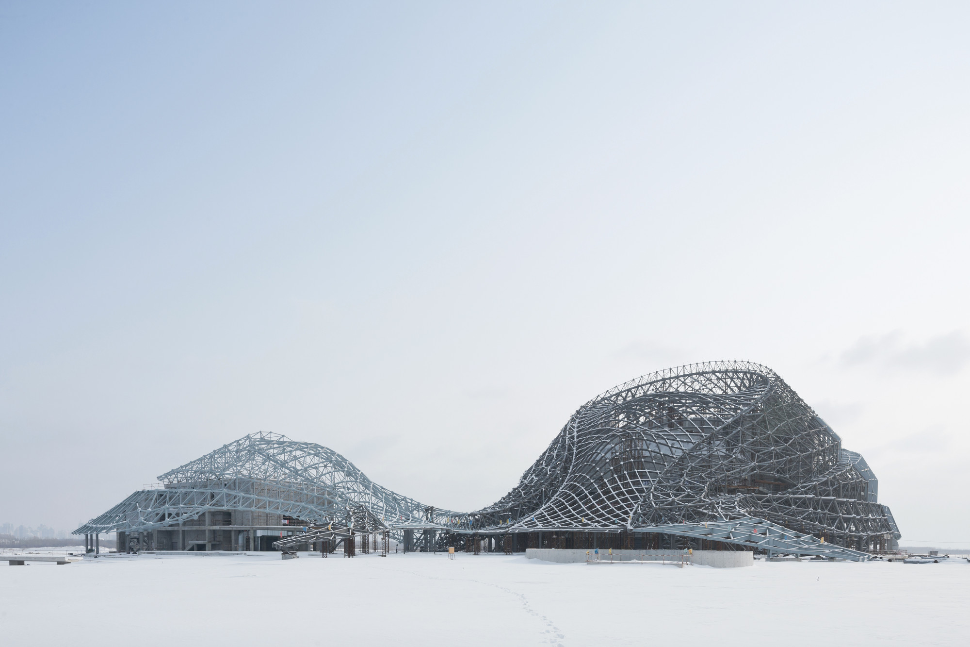 Harbin Cultural Center / MAD Architects, © MAD Architects