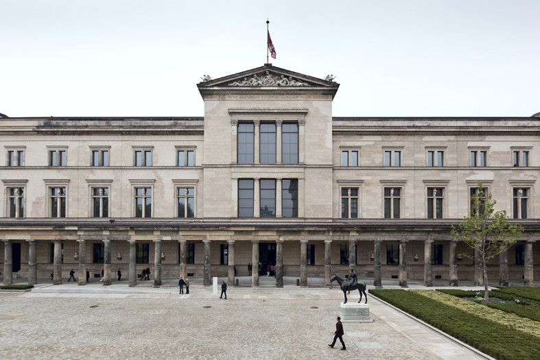 David Chipperfield Awarded Praemium Imperiale, Neues Museum / David Chipperfield Architects with Julian Harrap. Image © Ute Zscharnt for David Chipperfield Architects