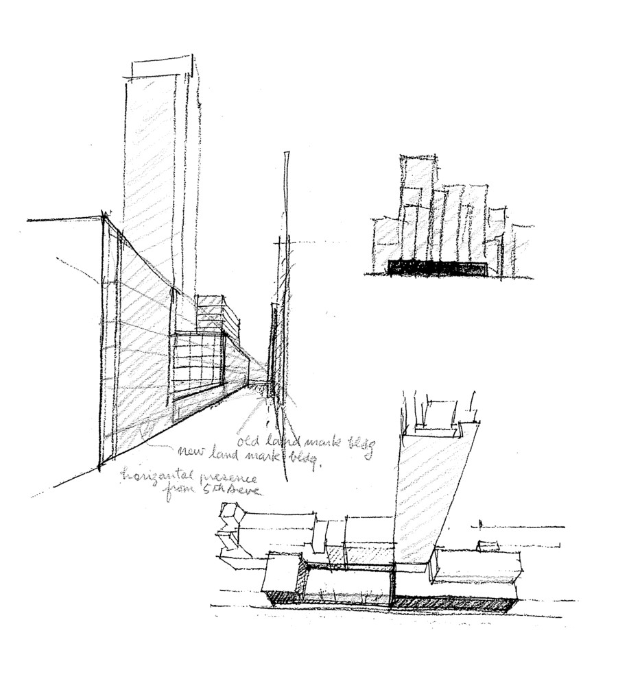 Ad classics the museum of modern art competition sketches