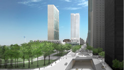 Fumihiko Maki Unveils New United Nations Tower