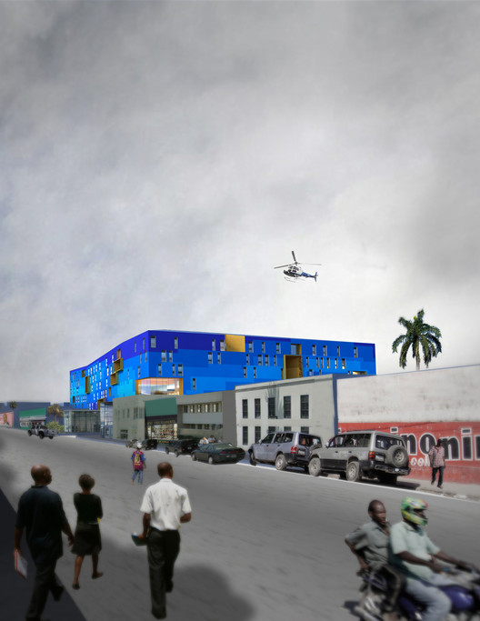 Reconstruction of the Hospital of the State University of Haiti / MASS Design Group, Courtesy of MASS Design Group