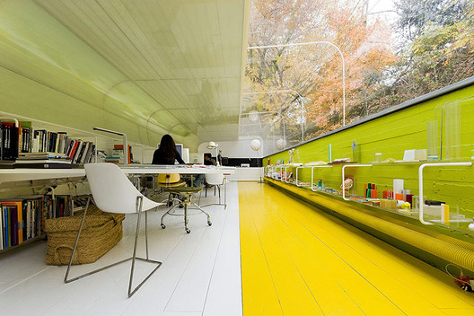 The office of Selgas Cano Architecture. Image © Iwan Baan