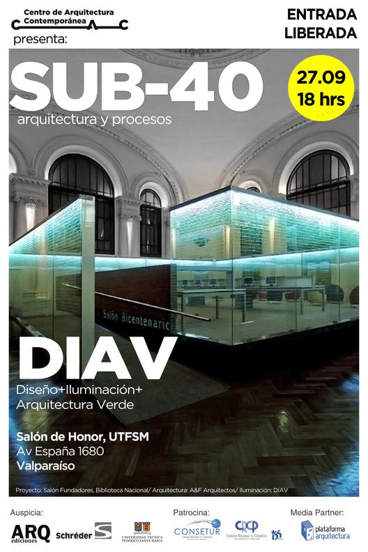 Ciclo SUB-40 Arquitectura y Procesos / Estudio DIAV