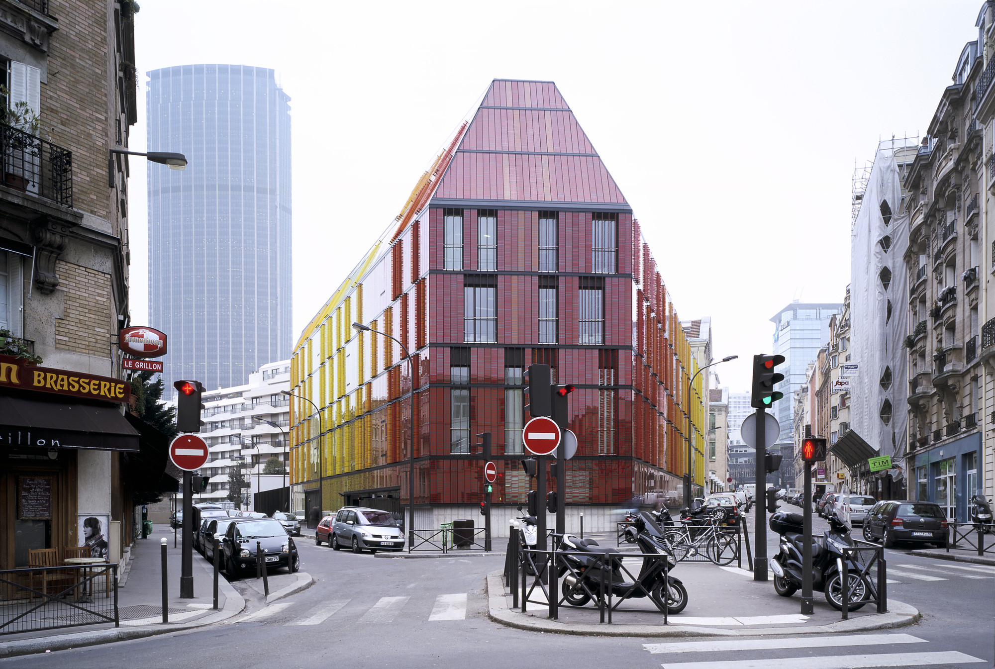 Architecture School Studio novancia business school / architecture-studio | archdaily