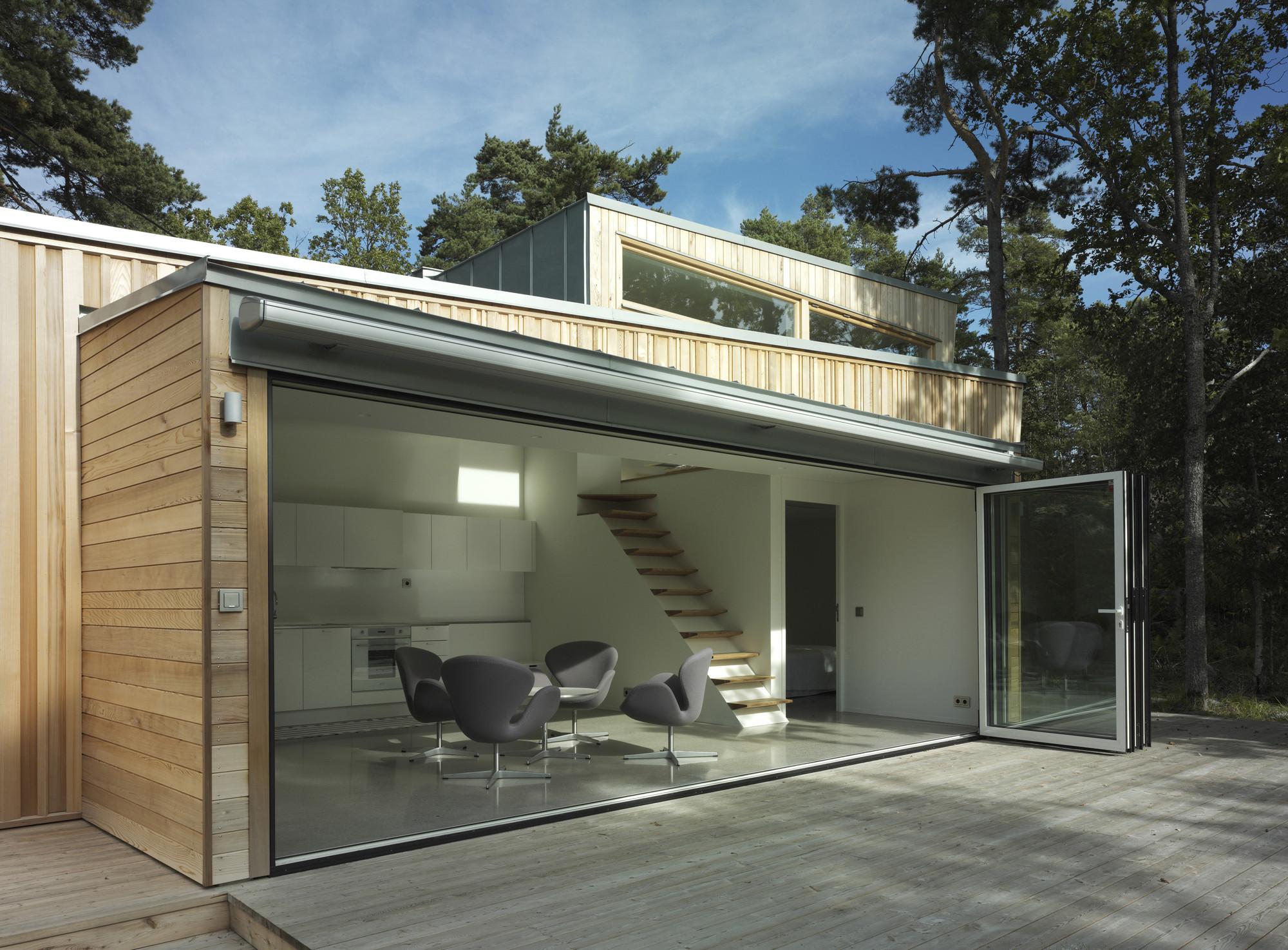 Wood house schlyter gezelius arkitektkontor archdaily