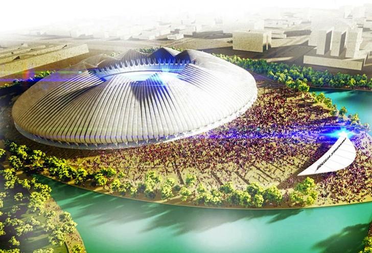Weston Williamson+Partners diseña estadio sustentable para los Juegos Olímpicos de Rio 2016, © Weston Williamson