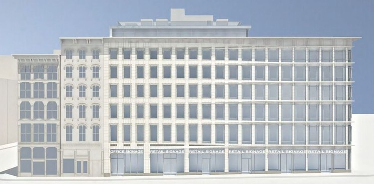 "NYC Landmarks Preservation Commission Lauds ""Exciting"" New Building, Courtesy of BKSK Architects"