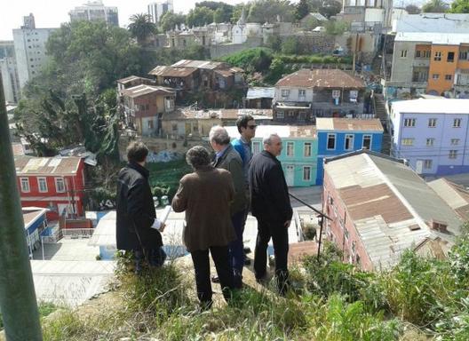 Resultado Concurso Nacional Anteproyecto Reconversión Sitio Estanque , Courtesy of Plan Cerro