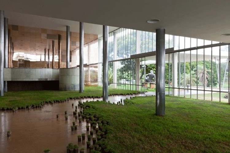 """Exposição """"Entre Arquitetura e Paisagem"""", no Studio-X Rio"""