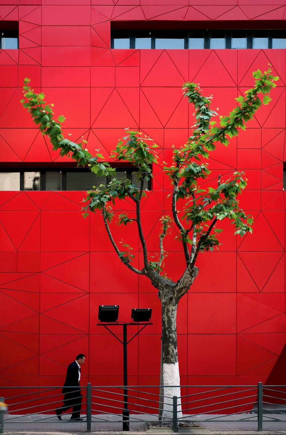 Gallery of Red Wall / 3Gatti Architecture Studio - 7