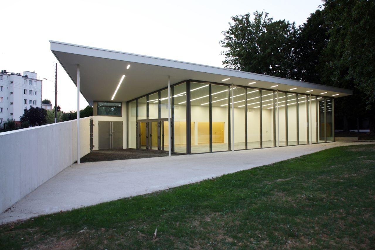 Pavilion Jean Baptiste Clément / Olivier Werner Architecte, © Franz Bourgeois