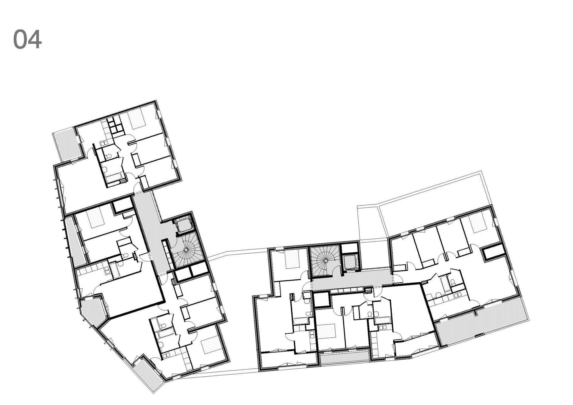 Low income housing floor plans for Low cost building plans