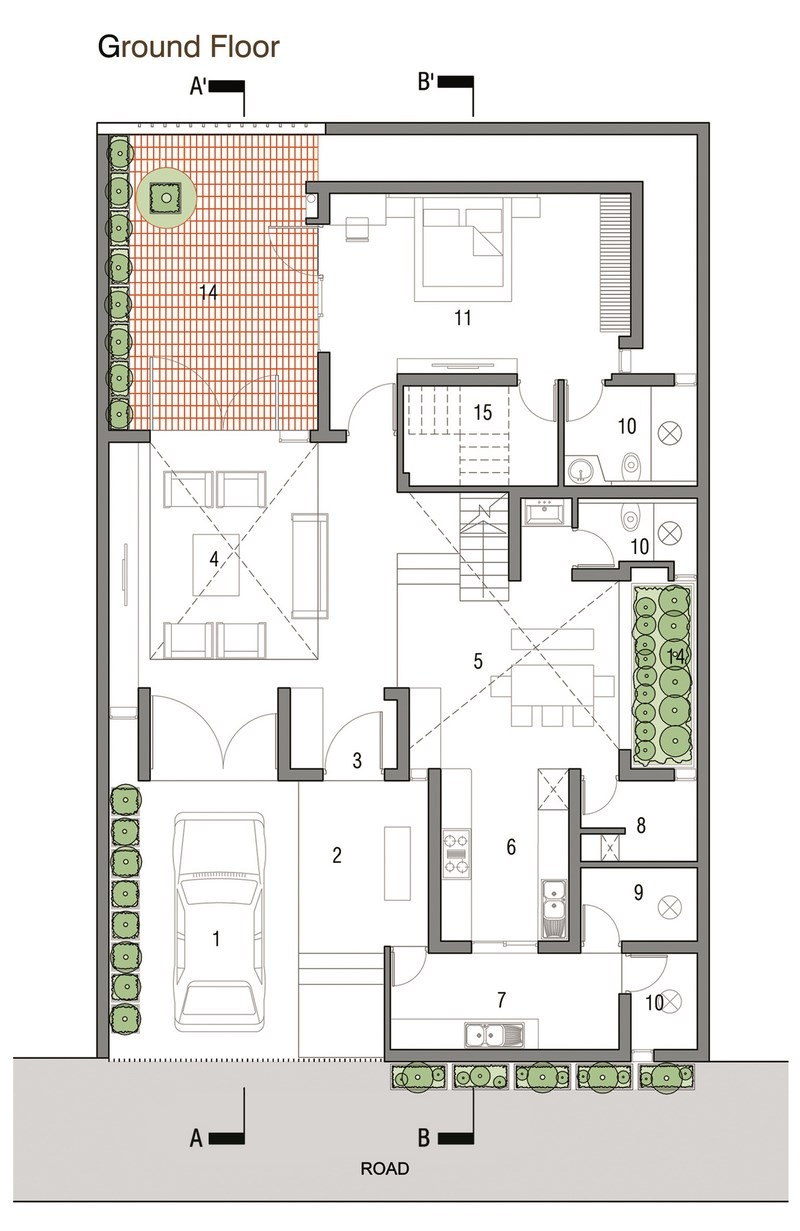 Galeria de pete mane architecture paradigm 22 for Home architecture floor plans