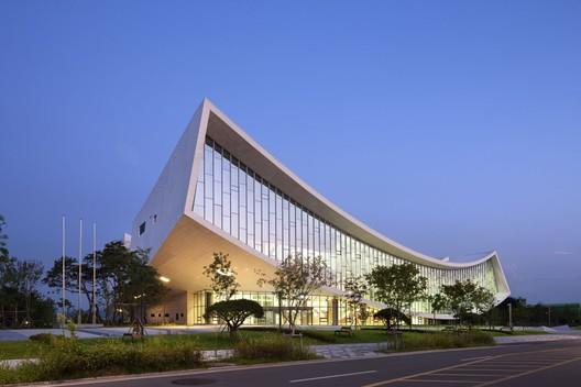 Biblioteca Nacional de Sejong / Samoo Architects &Engineers   ArchDaily Perú