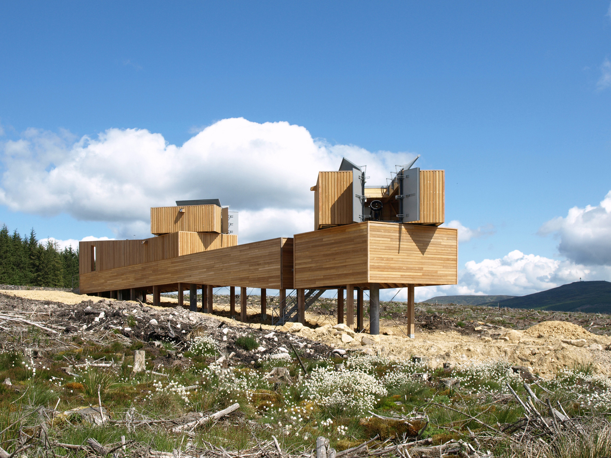 Kielder Observatory / Charles Barclay Architects, Courtesy of Charles Barclay Architects