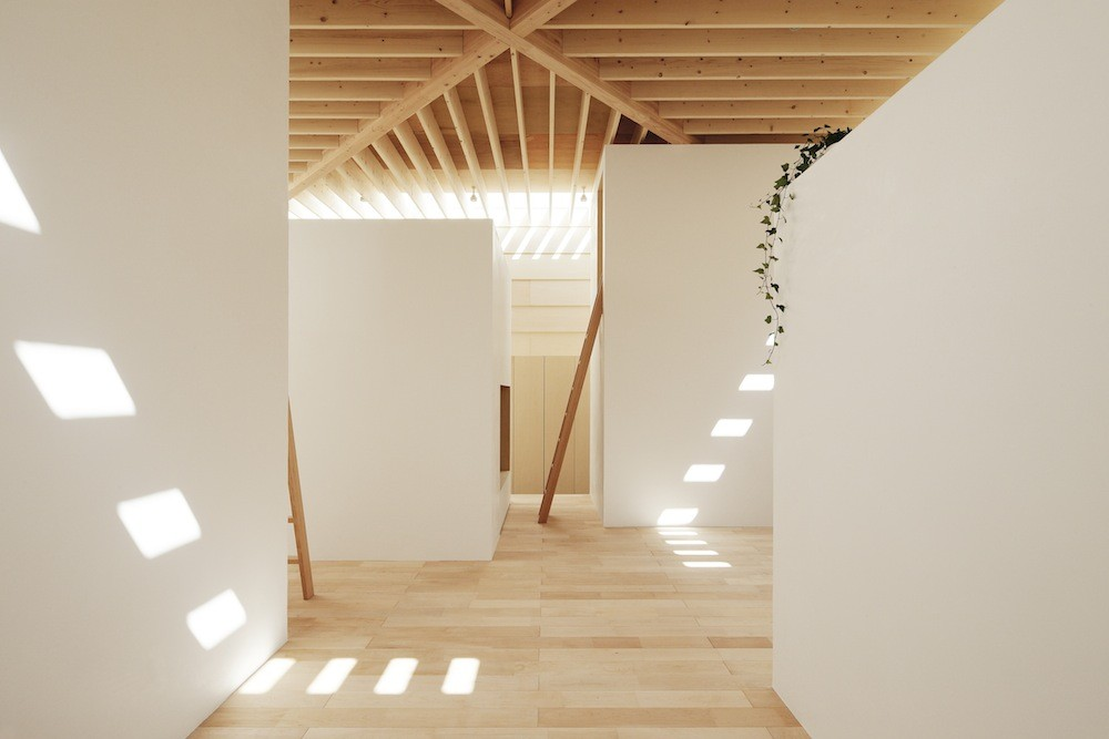 Light Walls light walls house / ma-style architects | archdaily