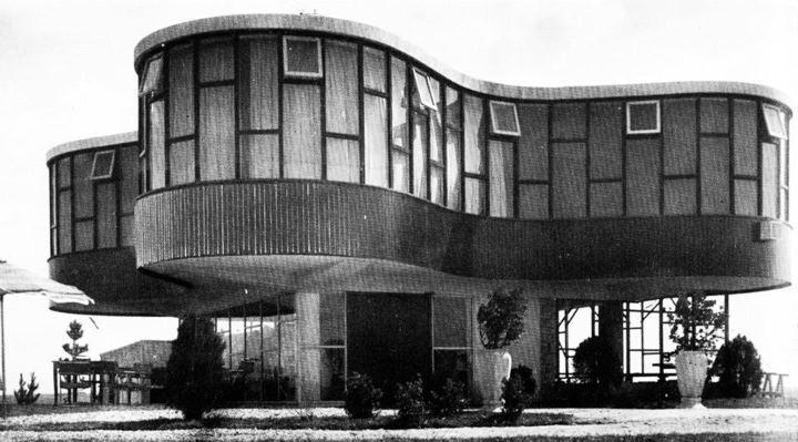 Ad classics ariston hotel marcel breuer archdaily - Marcel breuer architecture ...