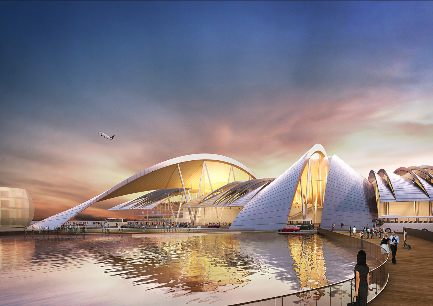 Twelve Architects to Design Airport in Russia for 2018 World Cup, Courtesy of Twelve Architects & Masterplanners