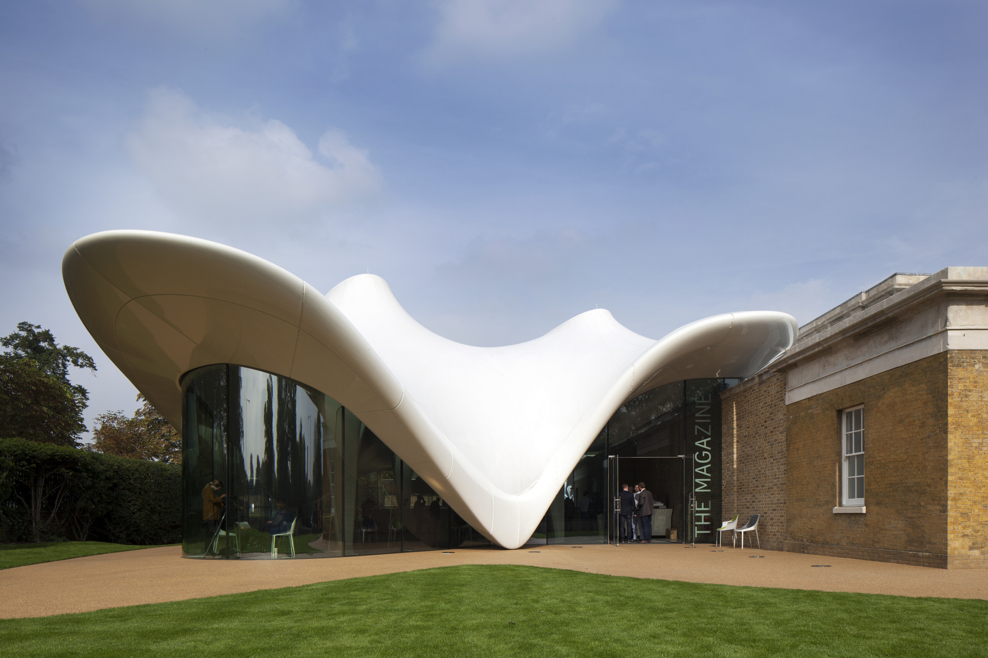 The Serpentine Sackler Gallery / Zaha Hadid Architects   ArchDaily