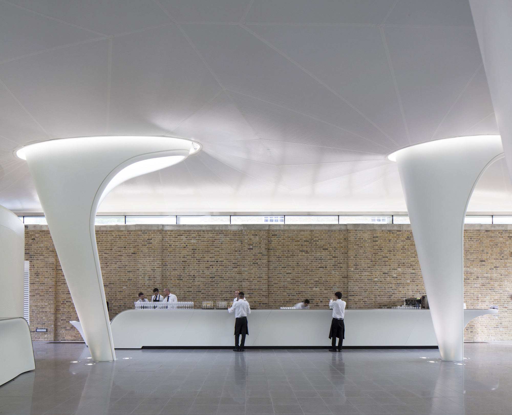 Gallery Of The Serpentine Sackler Gallery Zaha Hadid