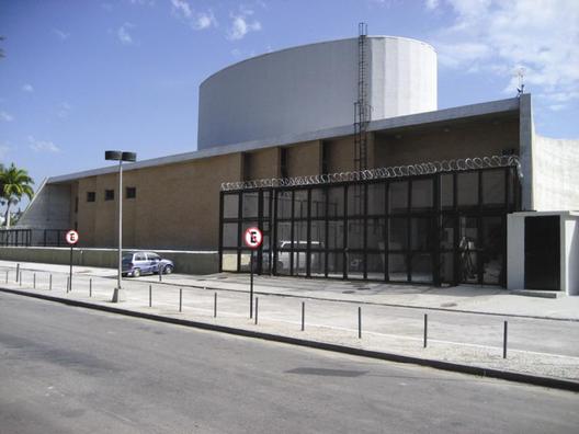 Teatro do Museu de Arte Moderna do Rio de Janeiro. Image © Roberto Segre