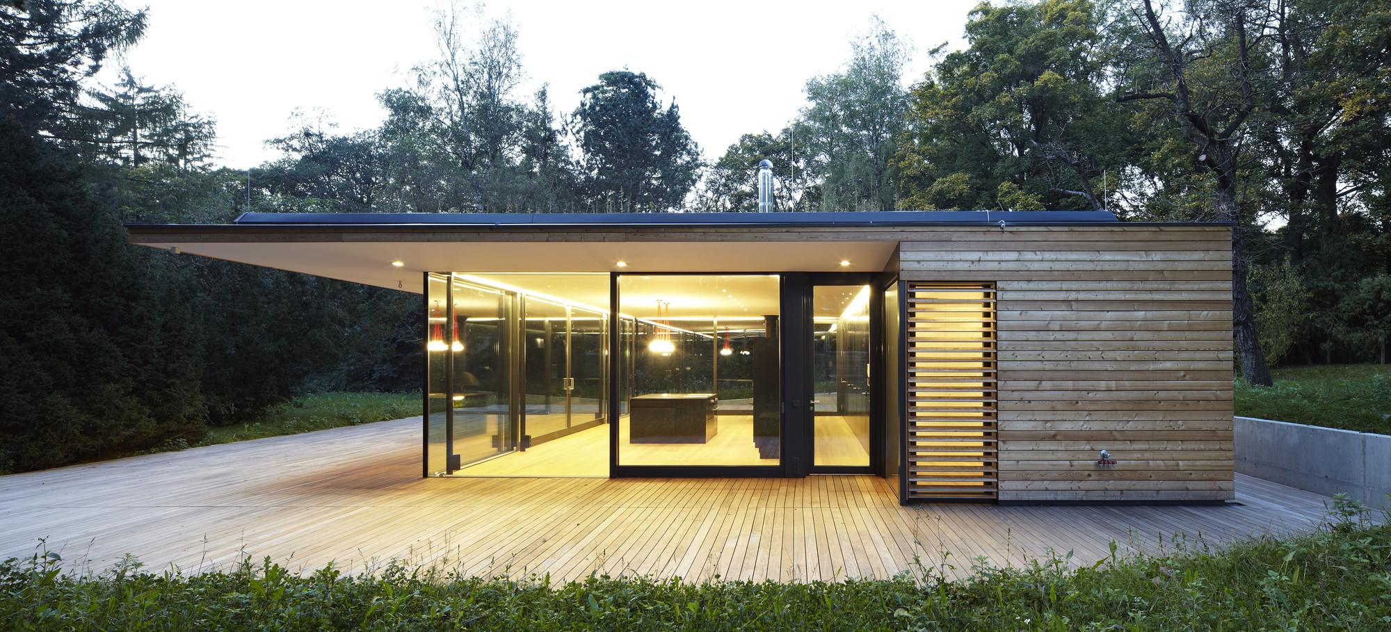 casa hainbach moosmann archdaily brasil. Black Bedroom Furniture Sets. Home Design Ideas