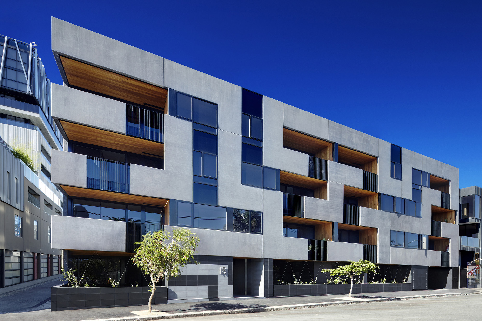 Gallery of the maze apartments cht architects 8 for Apartment architecture