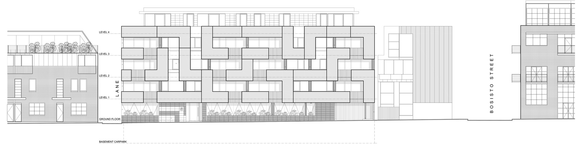 Gallery Of The Maze Apartments Cht Architects 19