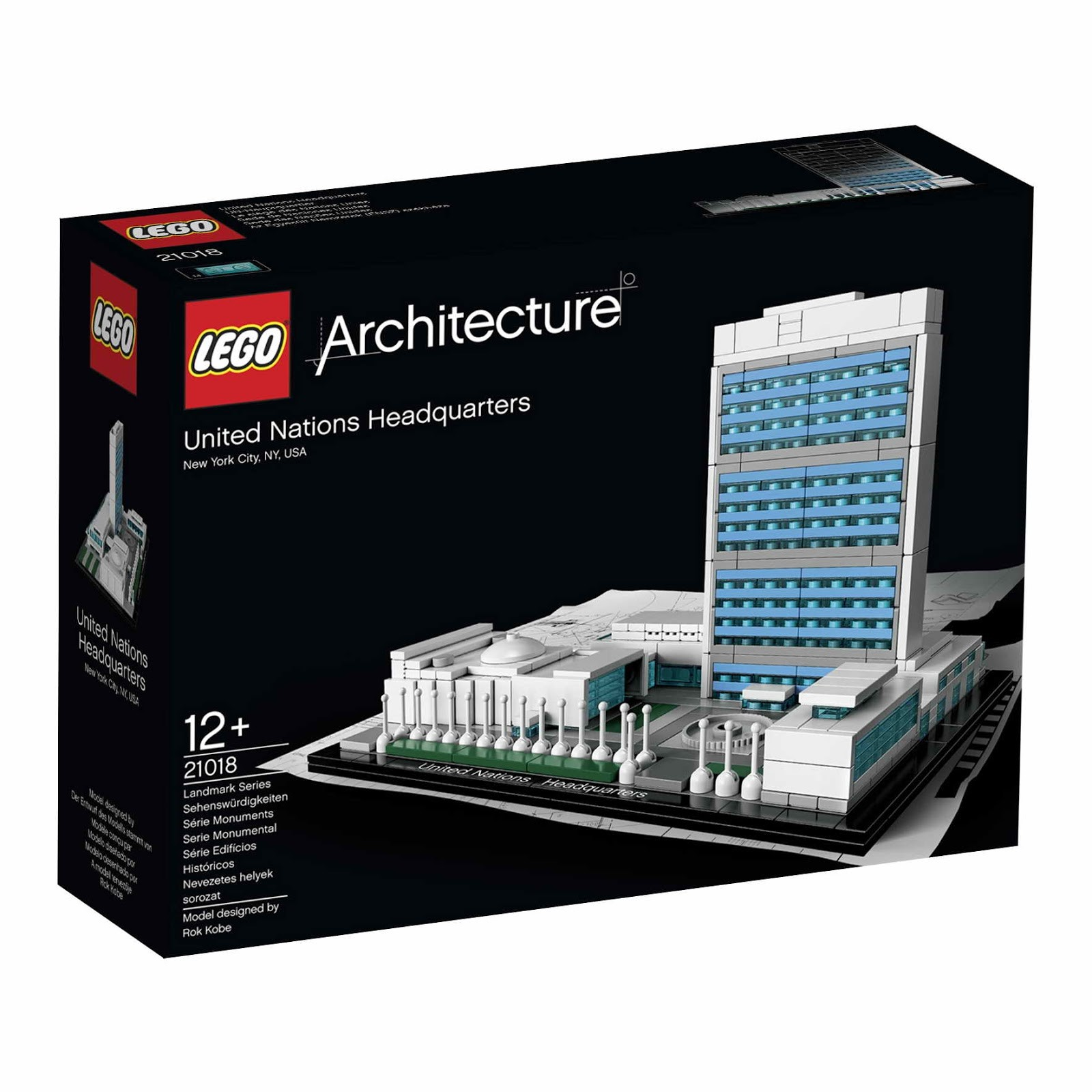 LEGO® Architecture Landmark Series: The United Nations Headquarters