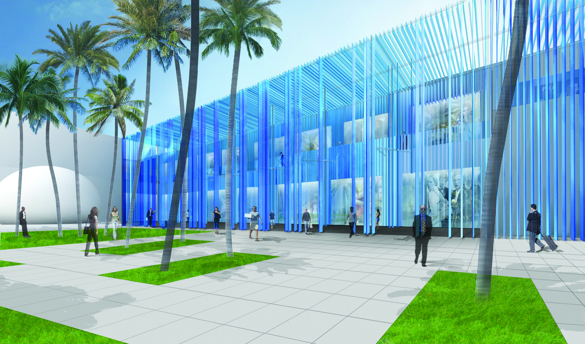 "Sou Fujimoto Designs ""Structural Waterfall"" for Miami, Courtesy of Sou Fujimoto"
