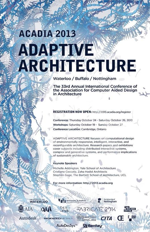 Adaptive Architecture ACADIA 2013